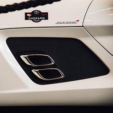 Uitlaat McLaren Mercedes-Benz SLR Stirling Moss van Willem Verstraten
