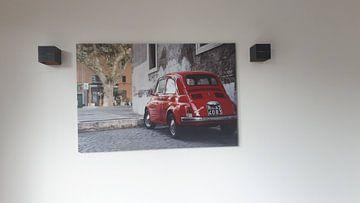Klantfoto: Klein rood autootje  van E Jansen