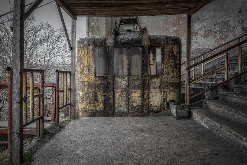 Oude kabelbaan van Maikel Brands