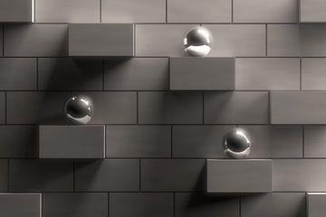 Concrete Wall van Jörg Hausmann