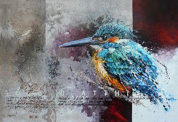 Eisvogel von Peter van Loenhout