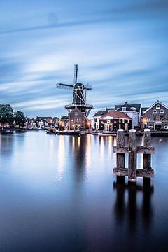 Zonsondergang in Haarlem 04 von Arjen Schippers