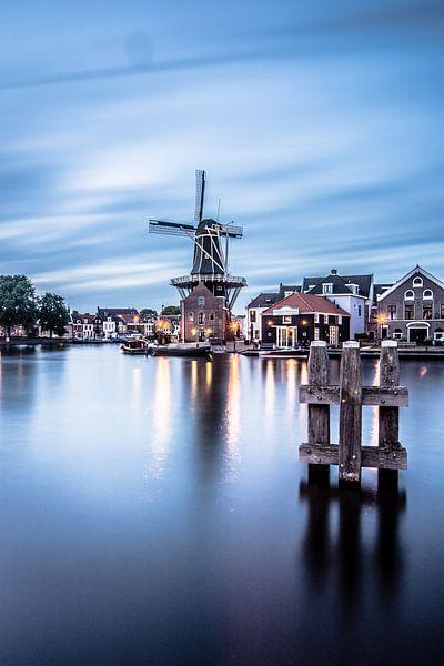 Zonsondergang in Haarlem 04 van Arjen Schippers