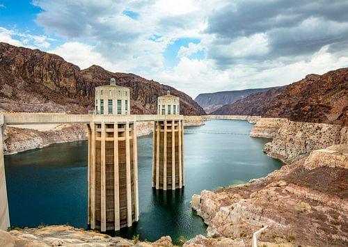 Hoover Dam USA waterinlaattorens