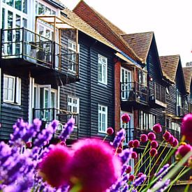 Brillant été - Canterbury, Angleterre sur Loretta's Art
