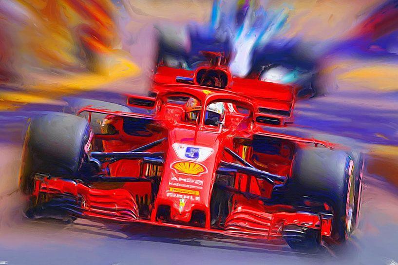 Sebastian Vettel von Jean-Louis Glineur alias DeVerviers