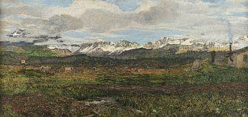 Paysage près de Maloja, Giovanni Segantini sur