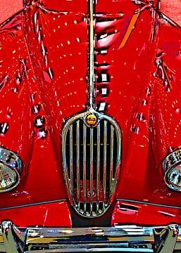 Jaguar XK 140 van Leopold Brix