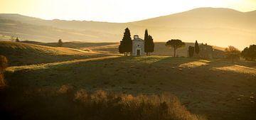 Cappella della Madonna di Vitaleta van Fotografie door Menno