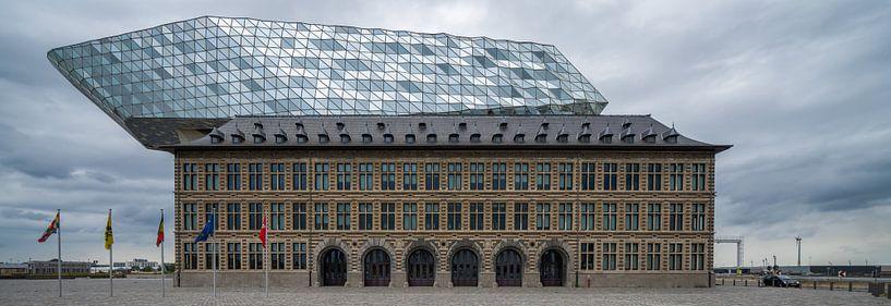 Hafenhaus Antwerpen von Steven Dijkshoorn