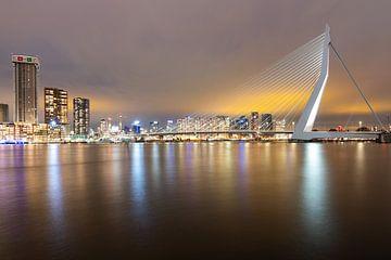 Skyline Rotterdam van Mark Bolijn