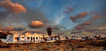 Sonnenaufgang auf Lanzarote von Dick Jeukens