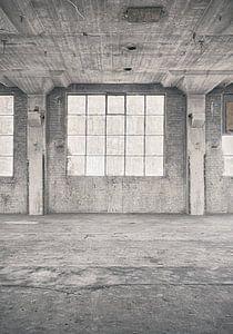 Verlaten plekken: Sphinx fabriek Maastricht venster 2.