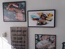 Kundenfoto: Max Verstappen - Spa Francorchamps von Martin Melis, auf leinwand