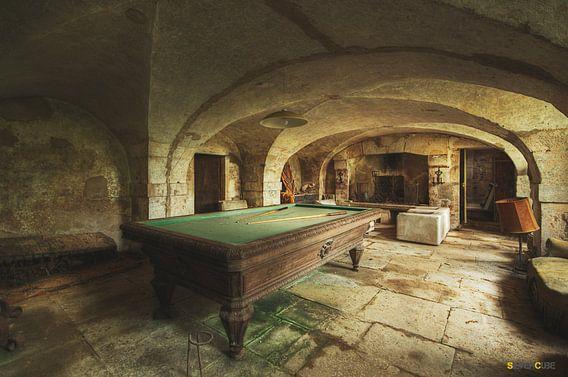 The hidden Treasure barn  van Daan Feenstra