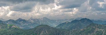Bergpanorama Radstädter Tauern von Coen Weesjes