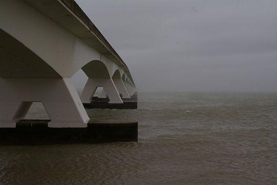 De Zeelandbrug bij Zierikzee.