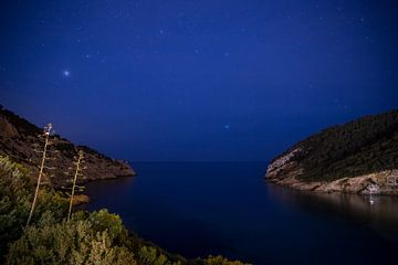 Cala Llonga bei Nacht von Alexander Wolff