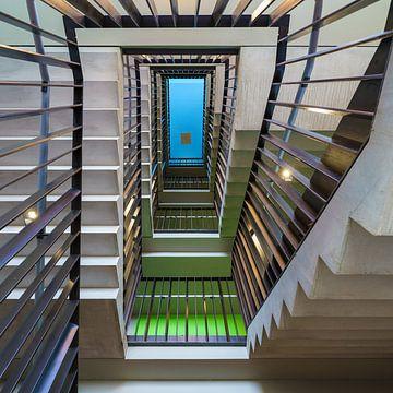 Treppenhaus Breda von Henri Boer Fotografie