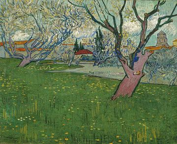Ansicht von Arles, 1889 - Vincent van Gogh