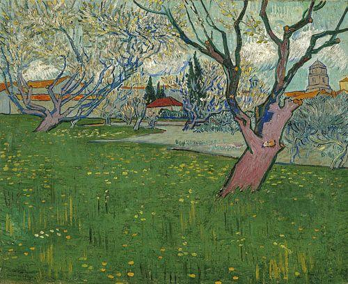 Ansicht von Arles, 1889 - Vincent van Gogh von 1000 Schilderijen