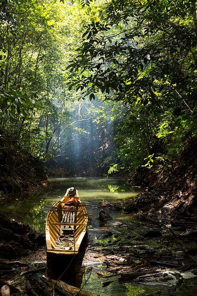 Boot in bos van Jan Tuns