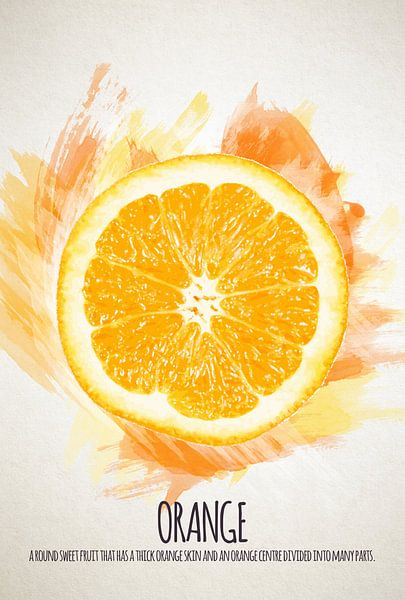 Fruities Sinaasappel van Sharon Harthoorn