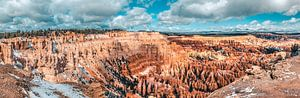 Panorama van amphitheater, Bryce Canyon, Utah