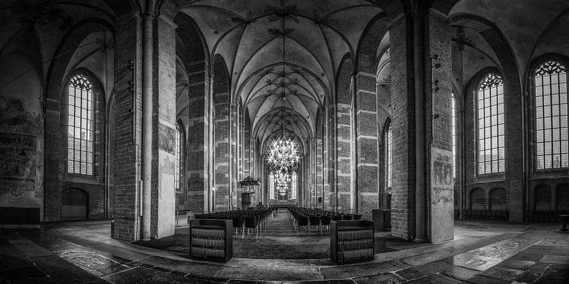 Lebuïnus kerk (panorama) van Remco Lefers