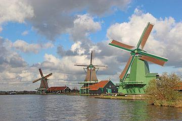 Windmühlen von Wilma Overwijn