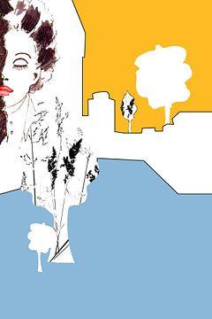 WhiteCube Woman 3 von Iris-Alexandra Hass