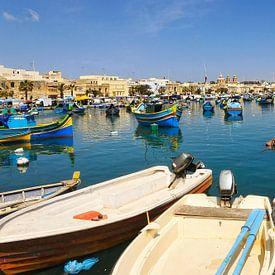 Malta, Marsaxlokk. von Tilly Meijer
