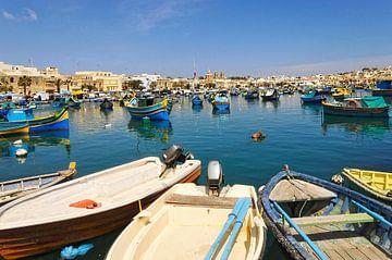 Malta, Marsaxlokk. van Tilly Meijer