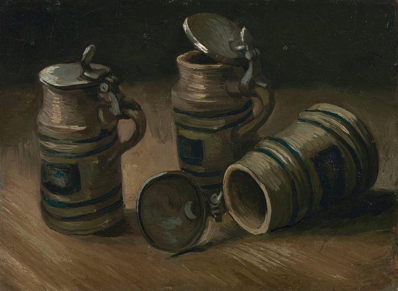 Beer Tankards, Vincent van Gogh von Meesterlijcke Meesters