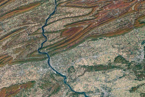 Herfstkleuren in Pennsylvania van Digital Universe