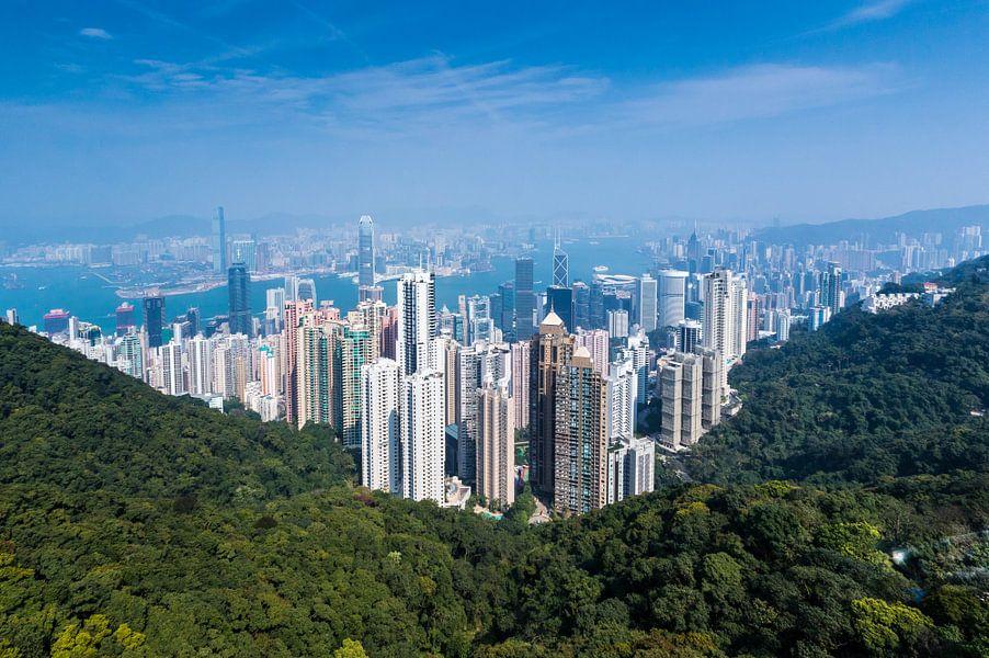 Hongkong, Victoria Peak van Inge van den Brande