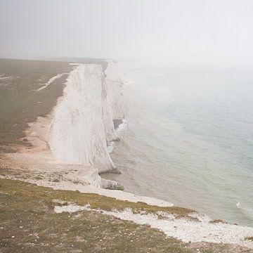 Echte Engelse mist krijtrotsen van Dover j van Wilbert Van Veldhuizen