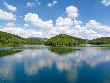 de dam van de Agger-vallei van Peter Eckert