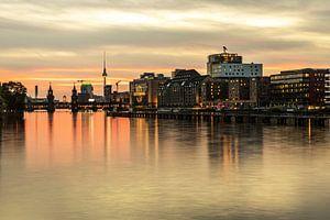 Berlin Mediaspree dans l'ancien port de l'Est