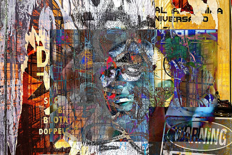 Chaotic man van PictureWork - Digital artist