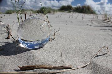 Wrâldbaltsje in de duinen van Terschelling van Nynke van der Ploeg