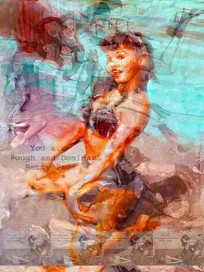 Betty Page X Betty Page Pop Art