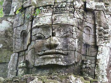 Bayon Tempel (Angkor Watt) Cambodja van