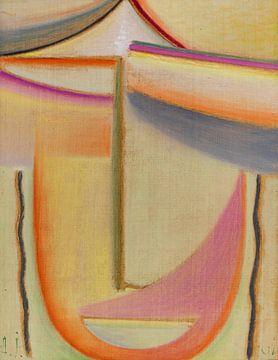 Abstract hoofd (Poëzie van de ochtend), Alexej von Jawlensky, 1931 van Atelier Liesjes