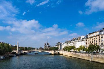 Blick über die Seine in Paris, Frankreich sur Rico Ködder