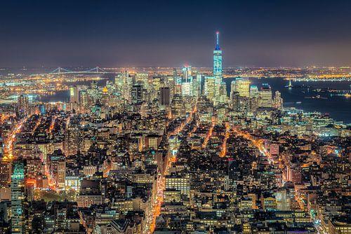 Lower Manhattan by Night