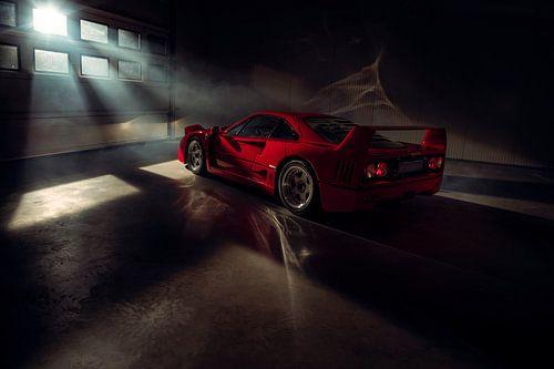 The Ferrari Big 5 - Ferrari F40 by Gijs Spierings