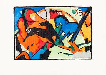 Der Blaue Reiter (2. Auflage), WASSILY KANDINSKY, 1914 von Atelier Liesjes