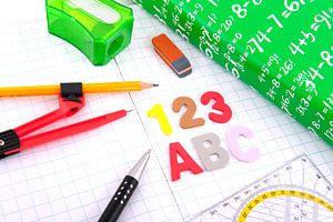 Schoolspullen als pen en schrift