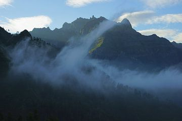 Bergen van Madeira sur